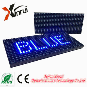 Outdoor P10 Single Colour LED Module Display Screen Advertising Text Board pictures & photos