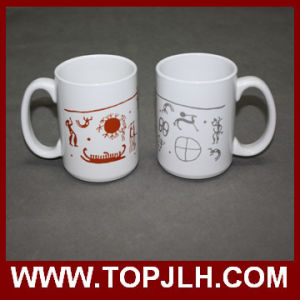 Porcelain Sublimation 15 Oz White Mugs pictures & photos