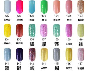 162 Colors Soak off Long Lasting UV/LED Gel Nail Polish pictures & photos