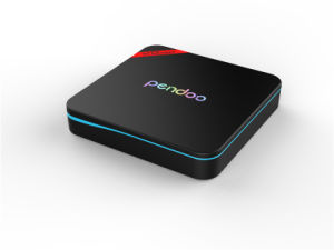 2016 High Quality Pendoo X8 PRO+ Android 6.0 Amlogic S905X TV Box Full HD Media Player Network Player Network Set Top Box pictures & photos