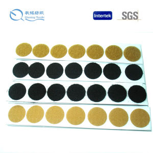 Self-Abhensive Magic Tape Dots for Garment pictures & photos