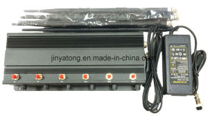 Adjustable 8 Antennas High-Power GPS/WiFi/VHF/UHF Jammer pictures & photos