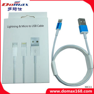 Cell Phone Adatper Lightning&Micro to USB Cable pictures & photos