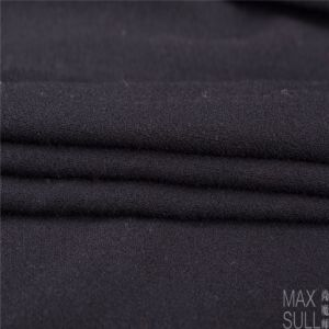 100% Wool Fabric for Autumn Season with Special Handfeel in Black pictures & photos