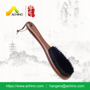 Dark Brown Wooden Hotel Brush for Clothes (AWBH103-Dark Brown) pictures & photos