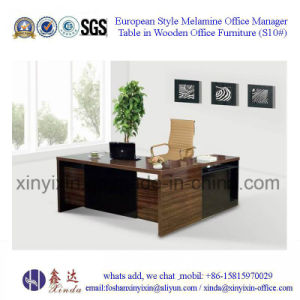 China Simple Design Office Desk Wooden Office Furniture (S10#) pictures & photos