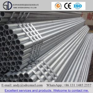 Pre Galvanized Round Steel Pipe for Building Material pictures & photos