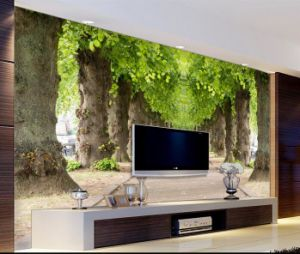 Custom Any Size Wall Mural Wallpapers for Living Room, Modern Fashion Cherry Tree Photo Murals Wallpaper pictures & photos