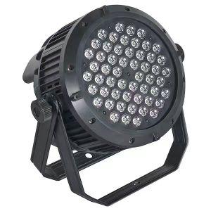 Home Disco Party Stage Stand Lighting DMX RGBW 54PCS PAR LED 3W pictures & photos