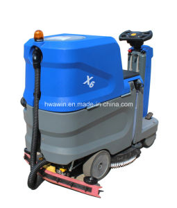 Commercial Ride on Floor Scrubber Dryer pictures & photos