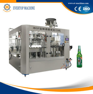 Small Bottle Beer Filling Machine Beer Bottling Plant pictures & photos