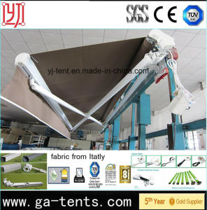 Waterproof Outdoor Motorized Retractable Awnings pictures & photos
