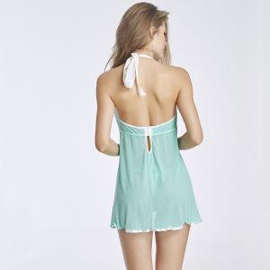 Hot Sale Transparent Nightwear Sleepwear Sexy Lingerie for Fat Women pictures & photos