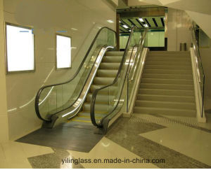 Toughened Laminated Escalator Glass with AS/NZS, Ce Certificate pictures & photos