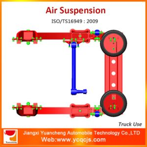 4*2 Truck Leaf Spring Air Suspension System pictures & photos