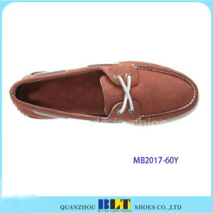 Arrival Men Casual Real Leather Shoes pictures & photos