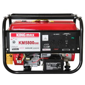 2.5kw Km5800dxe 2.2kw Km5500dx Kingmax Gasoline Generator pictures & photos