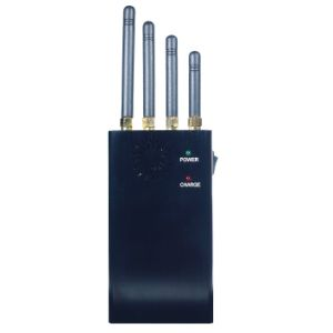 Portable Jammer 4 Bands Block Mobile Cell Phone CDMA GSM GPS 4G 3G WiFi Lojack, High Power Handheld Cellphone Signal Jammer pictures & photos
