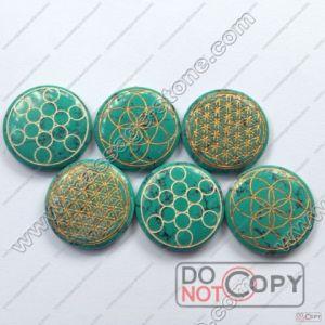Green Precious Stone for Jewelry Decoration