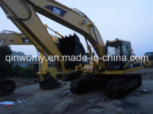 Backhoe 2006/7000hrs Used 0.5~1.0cbm/25ton Free-New-Repaint Available-Chassis/Pump Caterpillar 325b Crawler Excavator pictures & photos