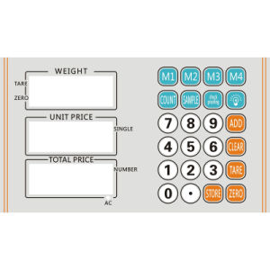 Electronic Price Platfrom Scale (DH-C1E) pictures & photos