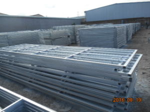 UK Type Style Hot Dipped Galvanized Heavy Duty Steel Tube Farm Gates pictures & photos