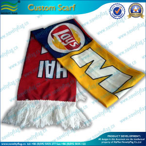 Cheap Wholesale Sport Fan Football Scarf (M-NF19F10001) pictures & photos