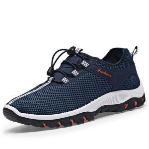 Sports Trekking Shoes Mesh Breathable Footwear for Men Shoe (AKTS1) pictures & photos