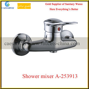 Wall Mounted Single Handle Brass Shower Mixer pictures & photos