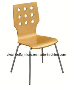 Stainless Steel Wooden Chair Betwood Chair for Restaurant pictures & photos