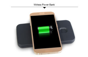 New Arrival Mobile Phone Accessoris Qi Power Bank Wireless Charger for Samsung Galaxy S6 pictures & photos