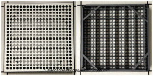 42% Steel Perforated Panel System pictures & photos