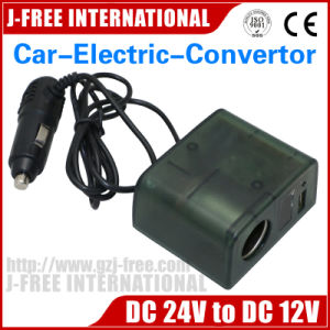 Factory Directly USB DC/DC Converter 24V to 12V 5A for Car Charger