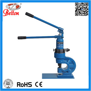 Manual Hydraulic Puncher Eyelet Hole Punching Tool Be-Zch-60 pictures & photos