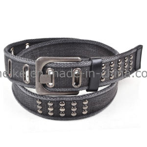 New Design High Quality Factory Wholesale Cotton Woven Man Belt pictures & photos