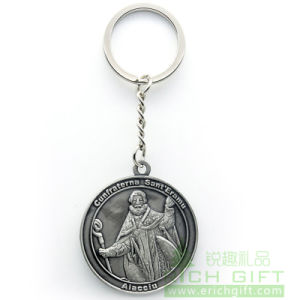Soft Lady Metal/PVC/Feather Keychain Sell by Factory No MOQ pictures & photos
