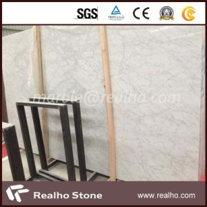 Polished Carrara White Marble Slab for Wall/Flooring/Countertop pictures & photos