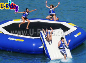 Big Size Inflatable Trampoline for Water Park pictures & photos