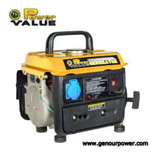 2 Stroke Engine 0.65kVA Gasoline Generator 600W pictures & photos