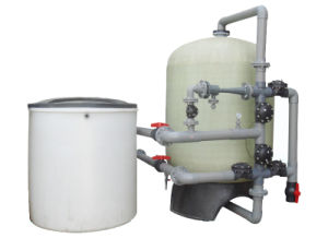 Ion Exchange Resin Automatic FRP Tank Water Softener pictures & photos