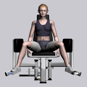 Gym Equipment Fitness Equipment for Hip Abductor (M7-2001) pictures & photos