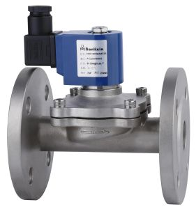 Solenoid Valve Flange Size--Stainless Steel Body Solenoid Valve pictures & photos