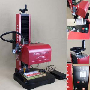 Pneumatic DOT Pin Marking Machine for Name Plate pictures & photos