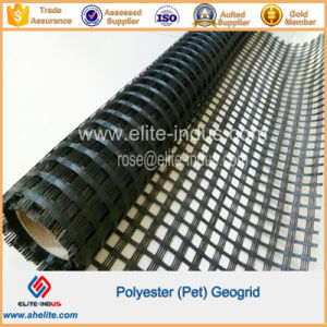 High Strength Polyester Uniaxial Ux Geogrid pictures & photos