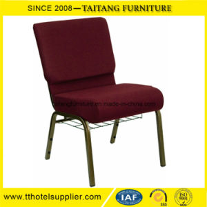 Wholesale Commercial Popular Used Padded Church Chair pictures & photos