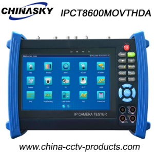 "7"" IP, Ahd, Tvi and Cvi CCTV Camera Tester (IPCT8600MOVTHDA) pictures & photos"