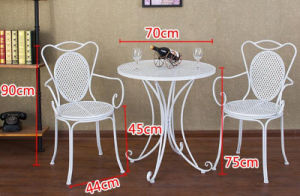 Hot Sale Home Furniture with Table and Chairs pictures & photos