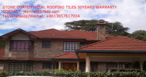 Stone Coated Metal Roofing Tiles Villa Tiles