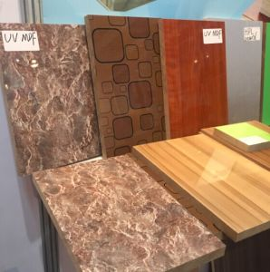 High Glossy UV Laminated MDF Board pictures & photos