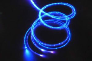 PMMA Sparkle Fiber Dotted Fiber Optic Light pictures & photos